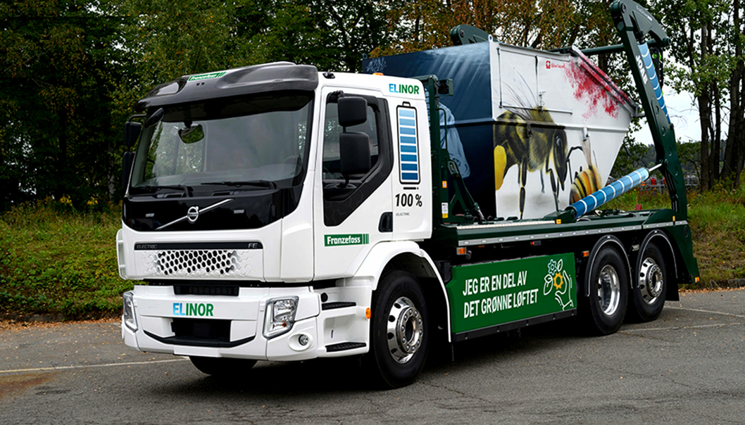 Franzefoss' nye el-liftbil har fått navnet Elinor.
