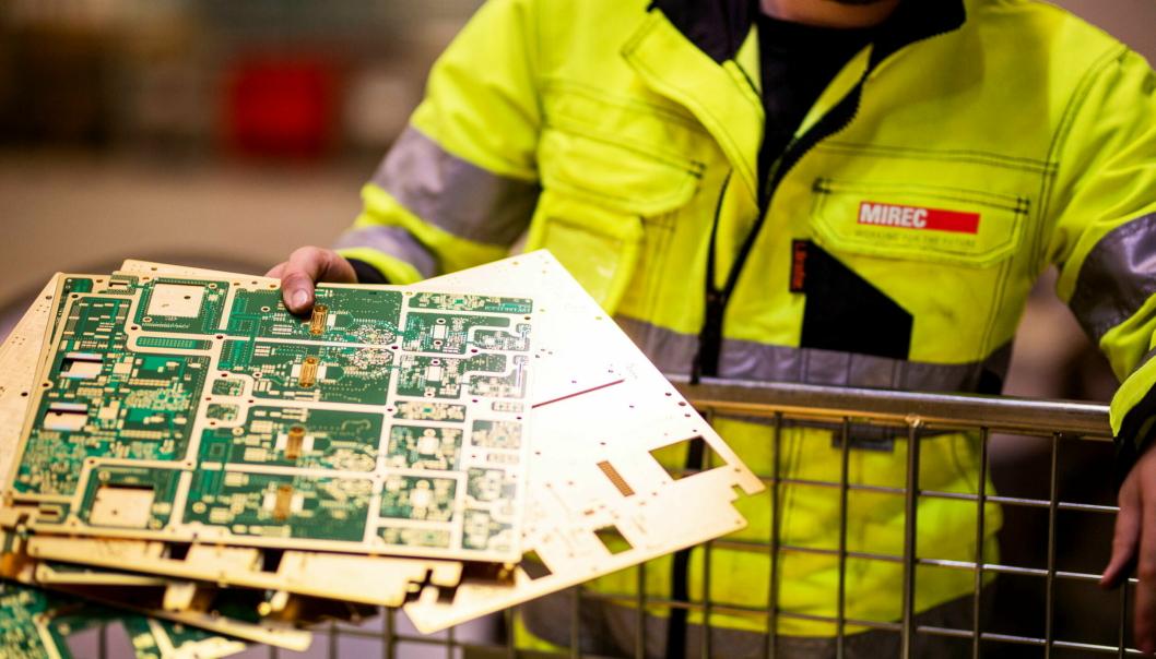 STYRKER SEG: NG-konsernet styrker sin posisjon innen gjenvinning, spesielt innen elektrisk utstyr, med oppkjøp av svensk selskap. Foto: Pressemelding