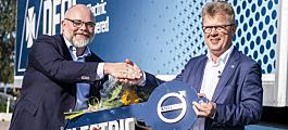 Bestilte 100 elektriske Volvo-lastebiler