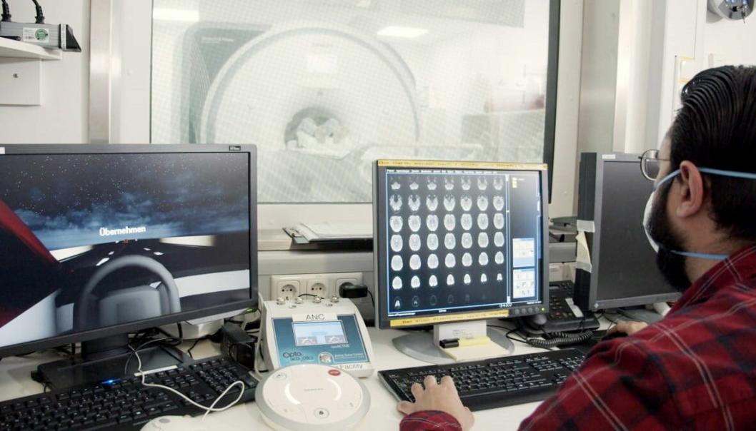 FORSKNING: Ford forsker ved hjelp av avansert teknologi på når bilførere mister konsentrasjonen. Foto: Ford