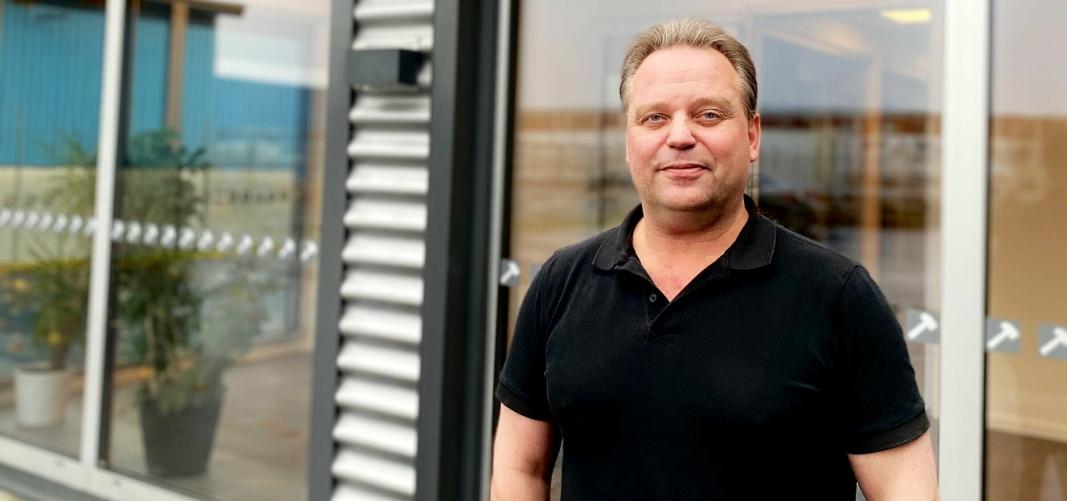 ANSATT: Patric Carlsson er ny selger i Hammerglass Automotive med salgsansvar for Skandinavia. Foto: Hammerglass