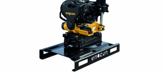 Ny løsning fra Engcon – lettere å transportere og oppbevare tiltrotatorer