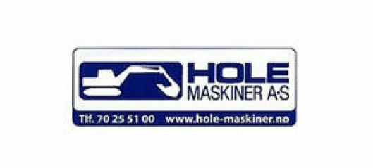 Hole Maskiner AS søker veg/anleggsarbeidar