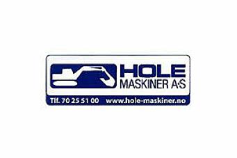 Hole Maskiner AS søker gravemaskinsjåfør