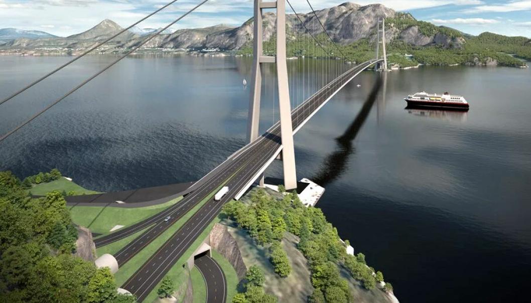 Arbeidet med den over to kilometer lange Julsundbrua vil bli delt opp i en stålkontrakt og en betongkontrakt.