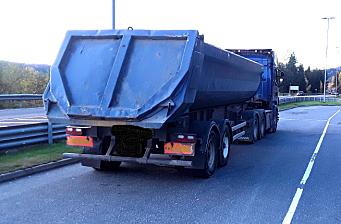Stoppet med 32,5 tonn på de to semiakslene