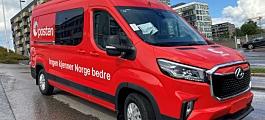 50 Maxus varebiler til Posten