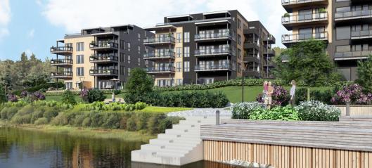 Peab bygger Osebakken Park i Porsgrunn