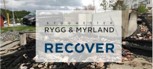 Recover kjøper Byggmester Rygg og Myrland AS