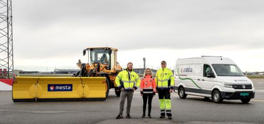 Startskudd for grønn vinterdrift på Oslo Lufthavn