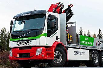 Elektriske kranbiler hos Optimera