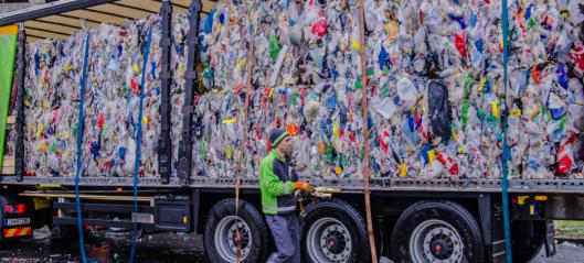 Sporer 600 tonn plastembalasje