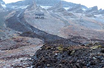 Ønsker overvåking av permafrosten i Longyearbyen i sanntid