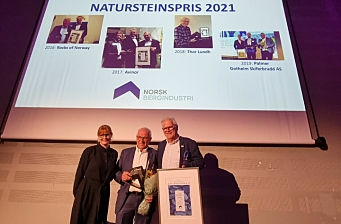 Natursteinsprisen 2021 gikk til Trygve Ollendorff