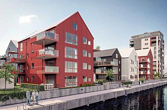 Peab bygger 39 leiligheter i Langesund