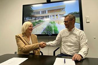 Veidekke bygger flerbrukshall for Oslo kommune