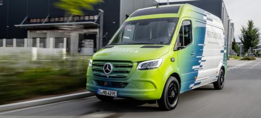 Bærekraftig Mercedes renser byluften